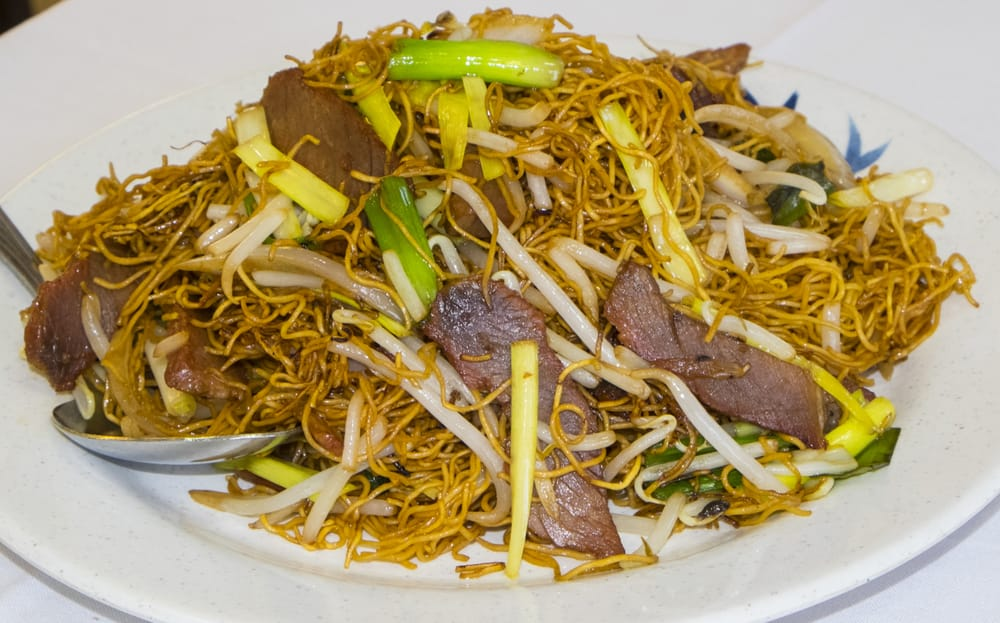 how to cook dry chow mein noodles