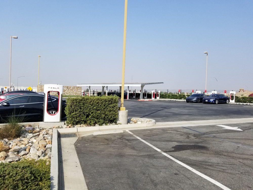 Tesla Supercharger Station - Tejon Ranch: 5602 Dennis McCarthy Dr, Lebec, CA