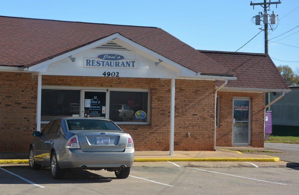 Jan's Restaurant: 4902 Fallston Rd, Fallston, NC