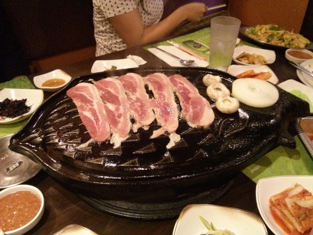 Jang choong dong karoke cucina coreana 9076 golf rd for Cucina coreana