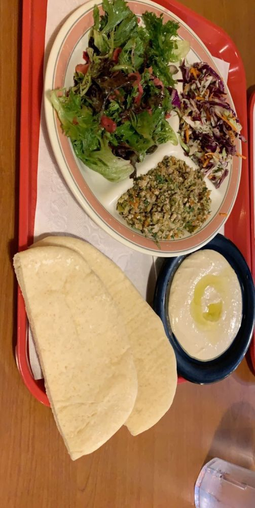 Food from Sanaa's Gourmet Restaurant