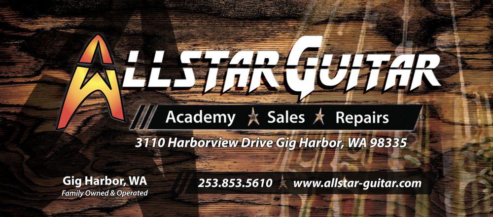 Allstar Guitar: 3110 Harborview Dr, Gig Harbor, WA