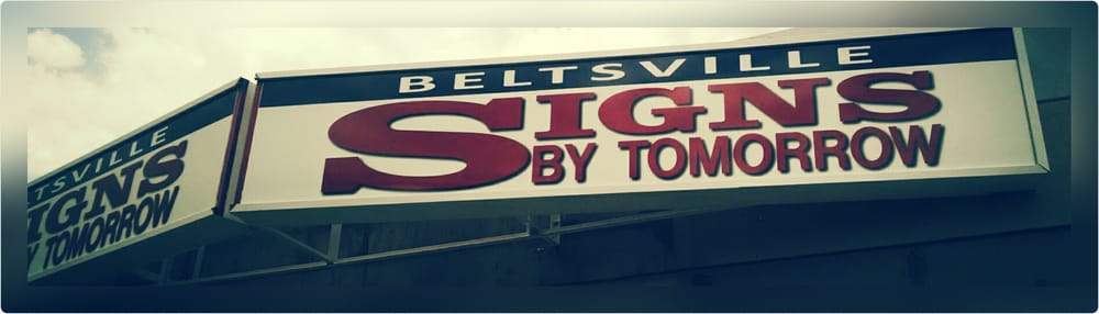 Signs By Tomorrow - Beltsville