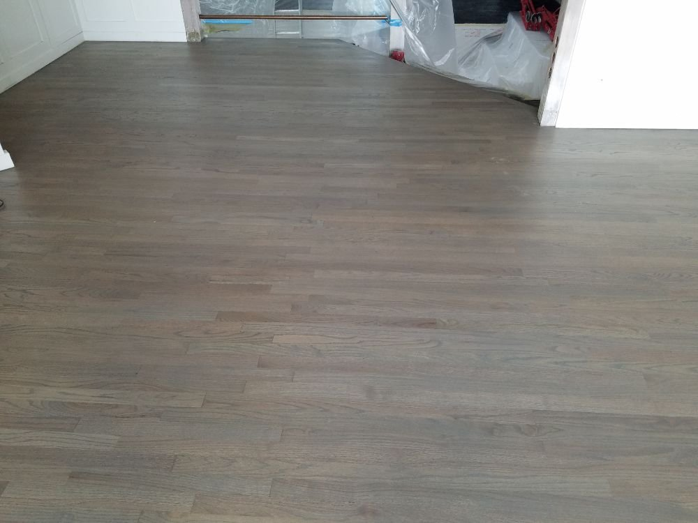Golden Hardwood Floor