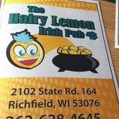 Hairy lemon irish pub richfield wi