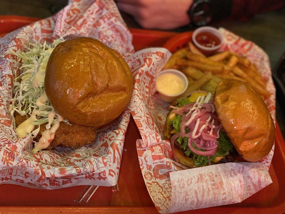 Food from Fukuburger Buffalo
