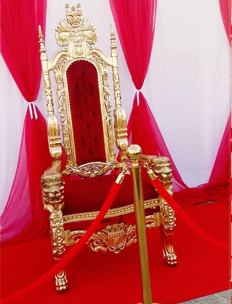 Superb Throne Used For My Sons Champagne Party Prom Yelp Inzonedesignstudio Interior Chair Design Inzonedesignstudiocom