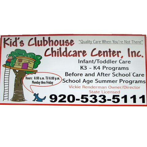 Kid's Clubhouse Childcare Center: 310 Knights Ct, Campbellsport, WI