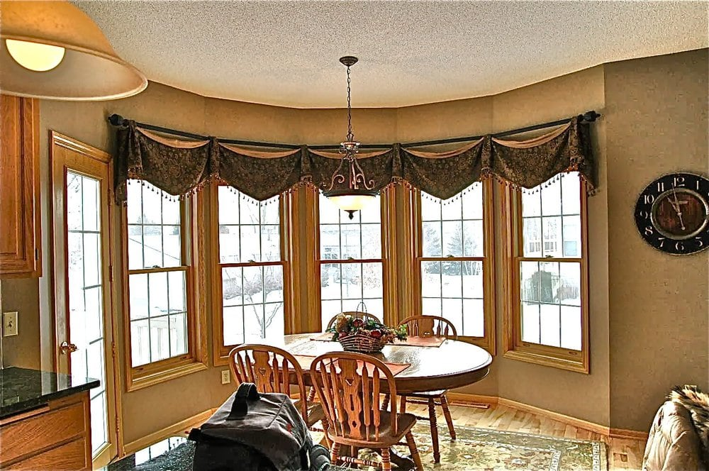Unique Window Fashions For Your Home Drapes In A Bay