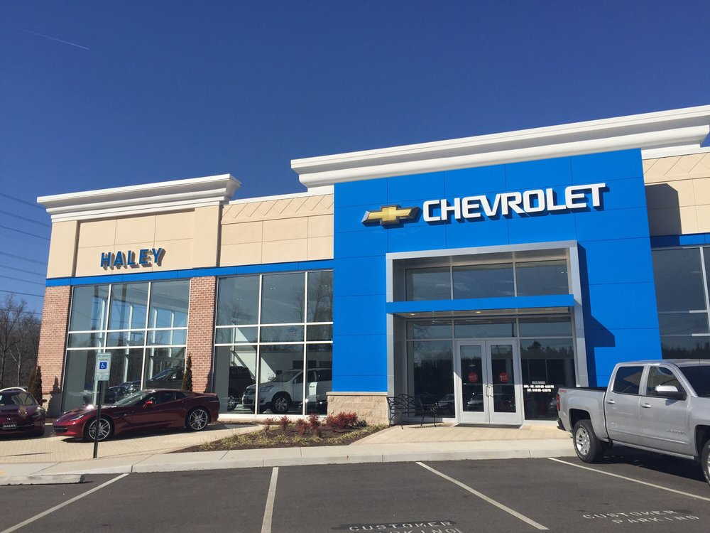 Haley Chevrolet Your New And Used Car Dealership Near