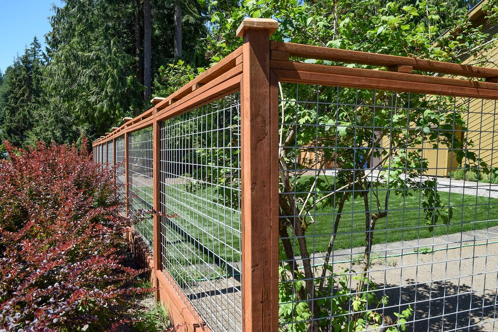 Home Perimeter Fence And Deer Fence Yelp