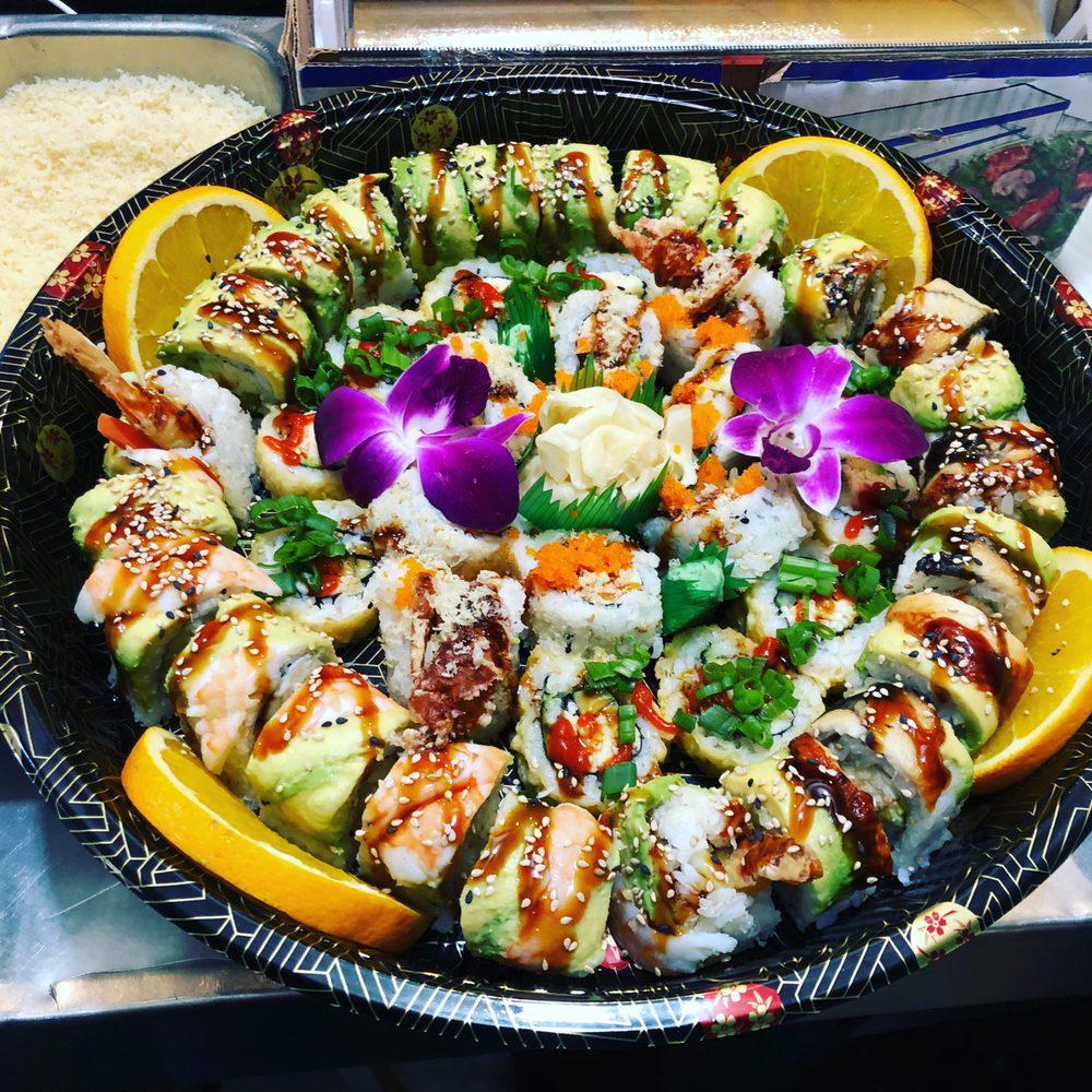 Blue Fish Sushi and Teriyaki: 7125 State St, Huntington Park, CA