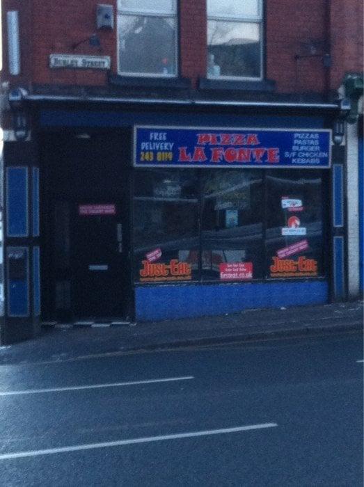 Pizza La Fonte Takeaway Fast Food 1 Burley St Leeds