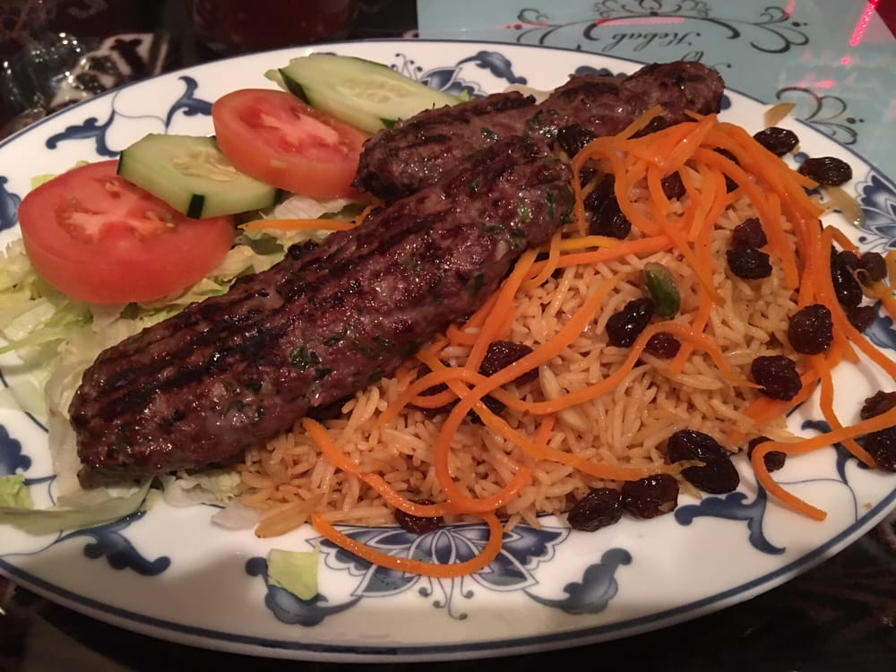 Kofta kebab yelp for Ariana afghan cuisine