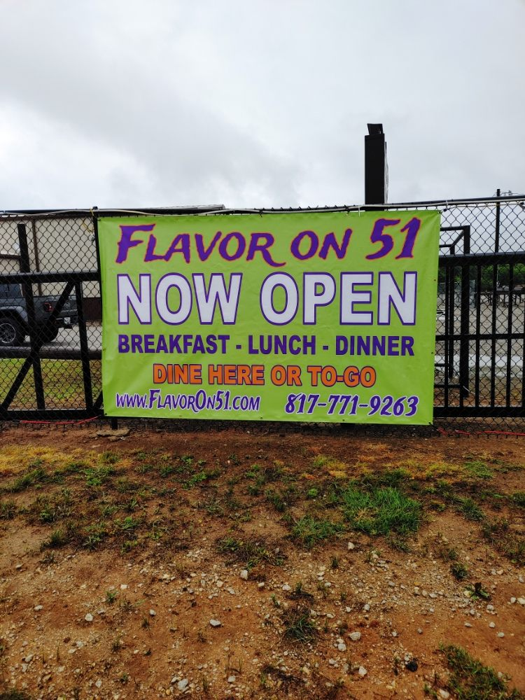 Flavor on 51: 6497 Granbury Hwy, Weatherford, TX