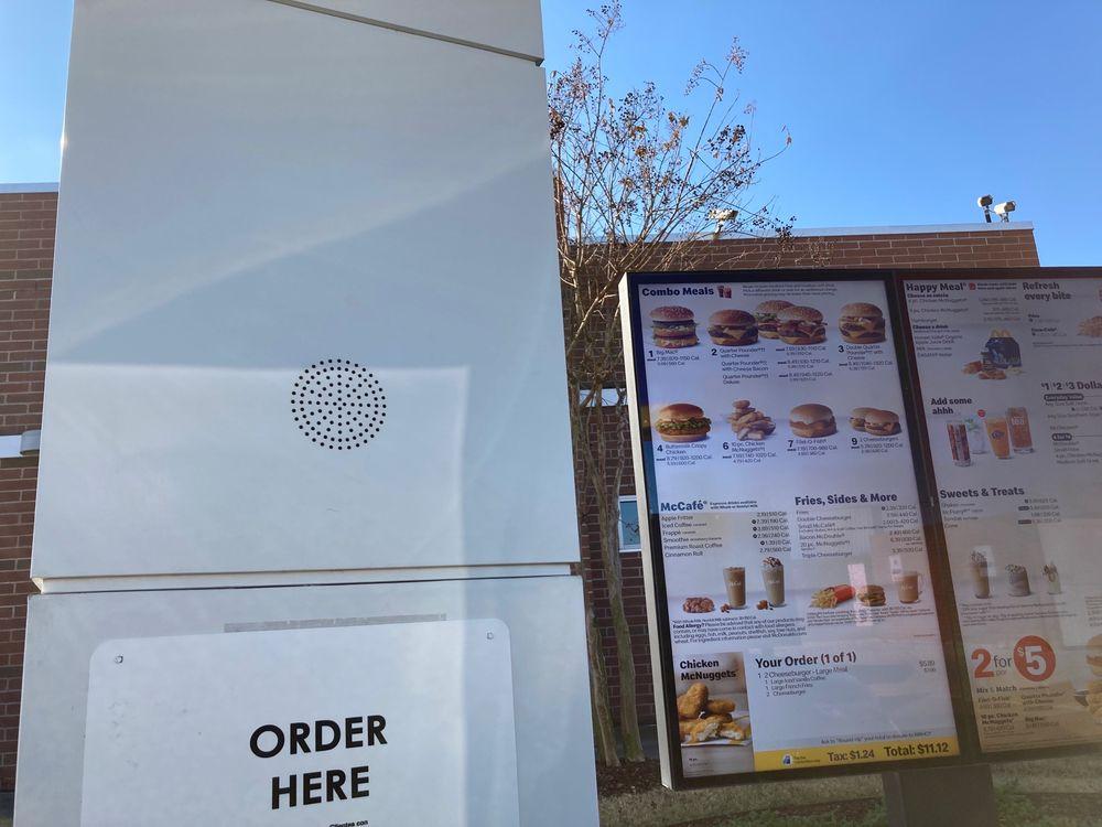 McDonald's: 1601 N Hervey, Hope, AR