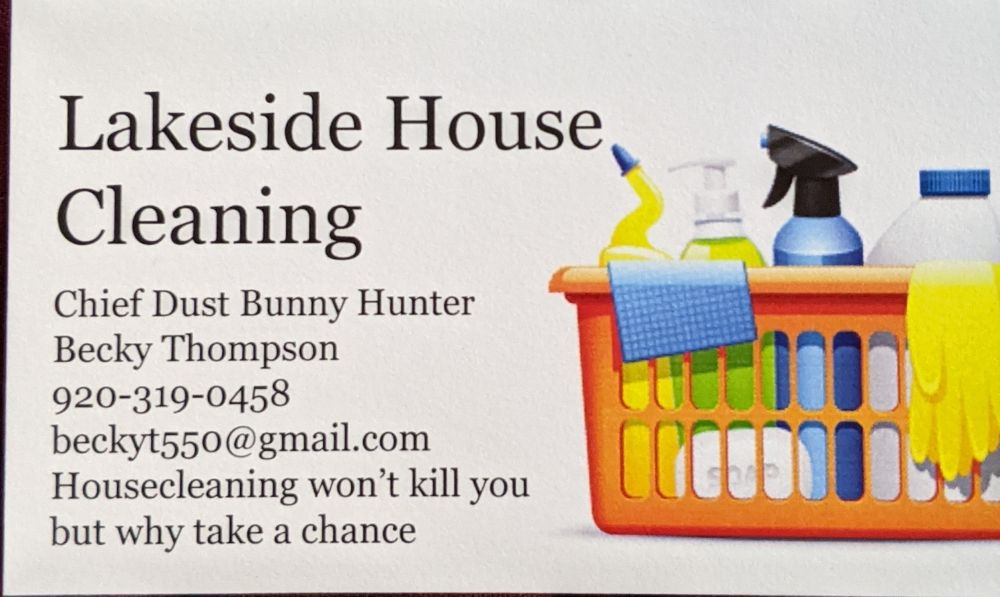 Lakeside House Cleaning: Green Lake, WI