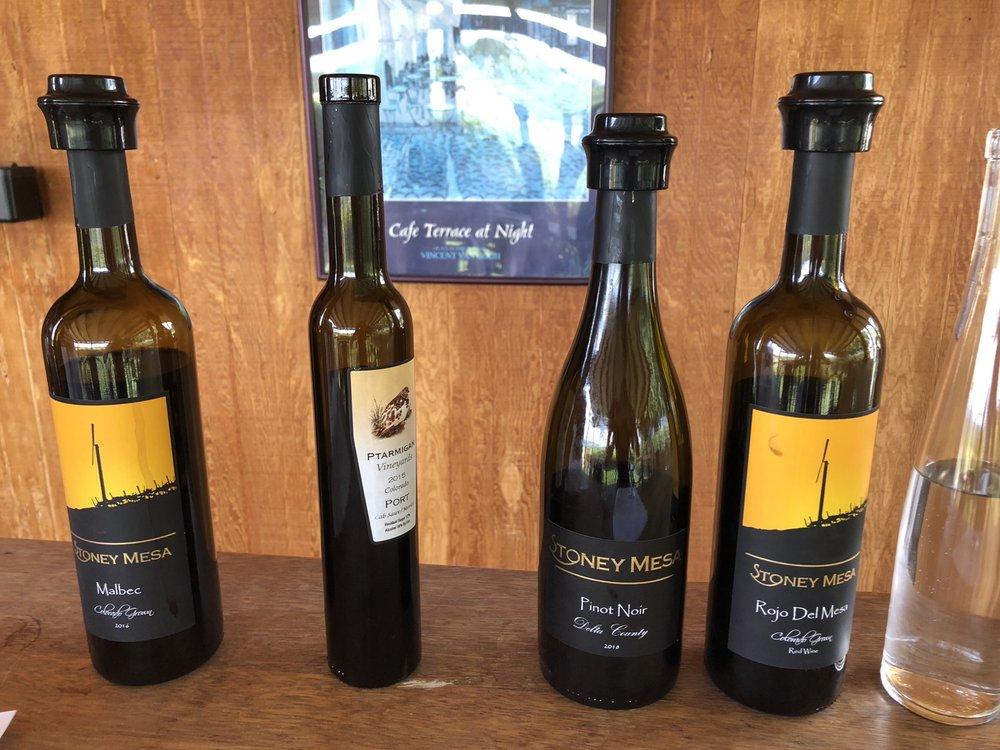 Stoney Mesa Winery: 16199 Happy Hollow Rd, Cedaredge, CO