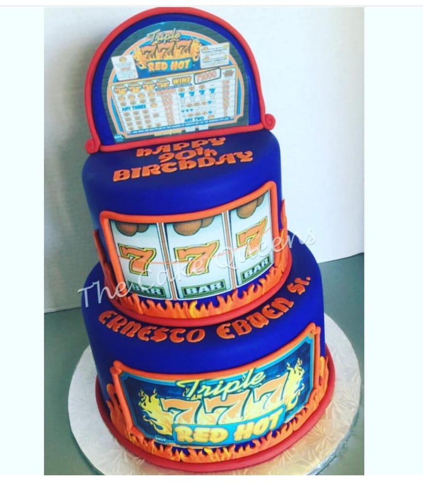 Slot Machine 90th Birthday Cake Yelp