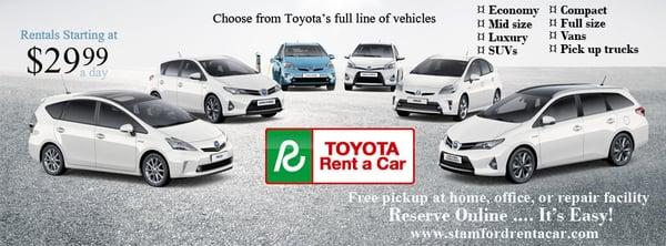 Toyota rental stamford ct