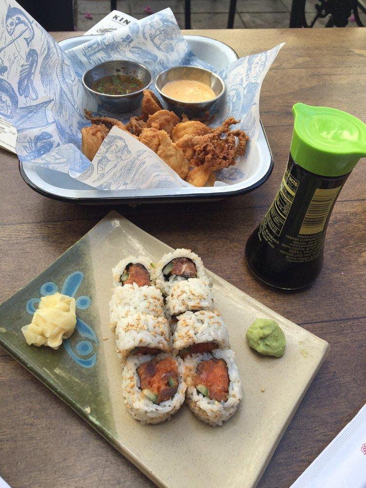 Spicy tuna calamari yelp for King fish long beach