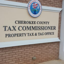 Cherokee County Tax Commissioner S Office Departments Of Motor
