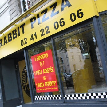 speed rabbit pizza pizza 46 boulevard ayrault angers france restaurant avis num ro. Black Bedroom Furniture Sets. Home Design Ideas