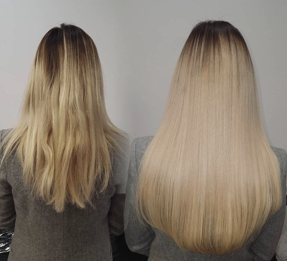 Fusion Hair Extensions By Dalal At Lulu Beauty Lounge Yelp