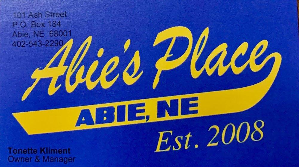 Abie Place's: 101 Ash St, Bruno, NE