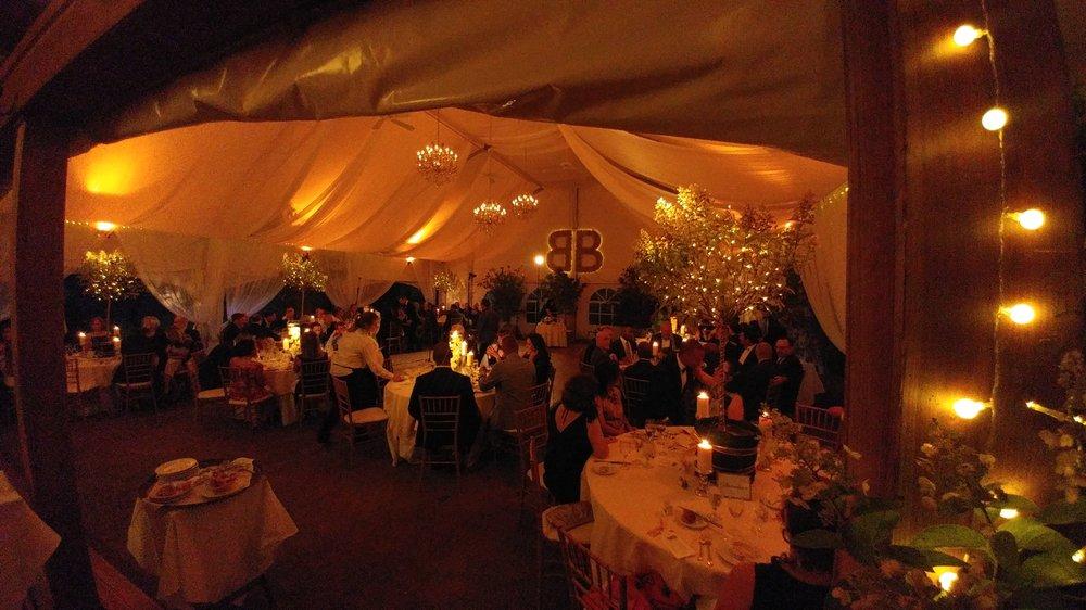 Tent & Venue Lighting, Pinspotting, Wedding DJ Entertainment ...