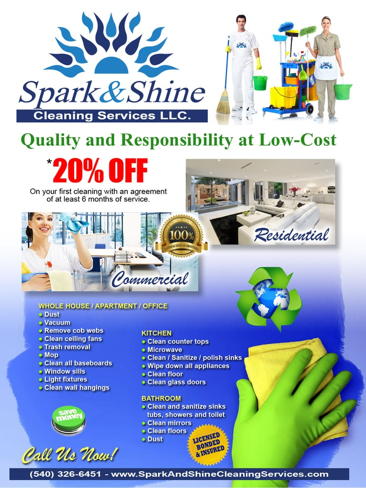 Spark and Shine Cleaning Services
