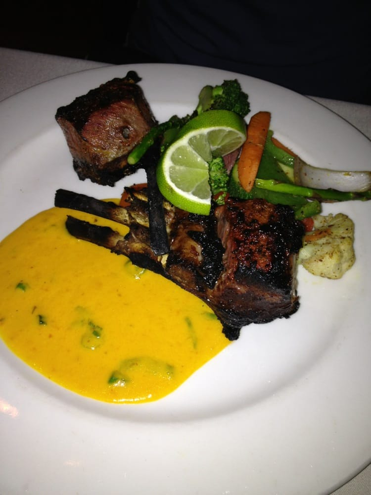 lamb chop with mango sauce 20 yelp