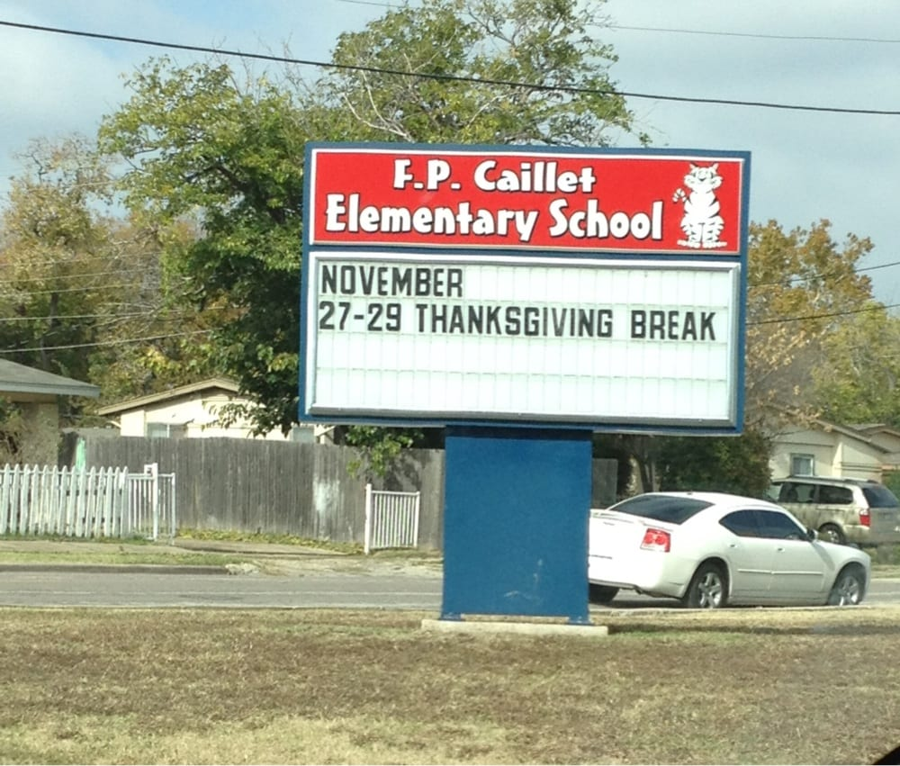 Us Columbine Shares Message For Nearby School After: F P Caillet Elementary School
