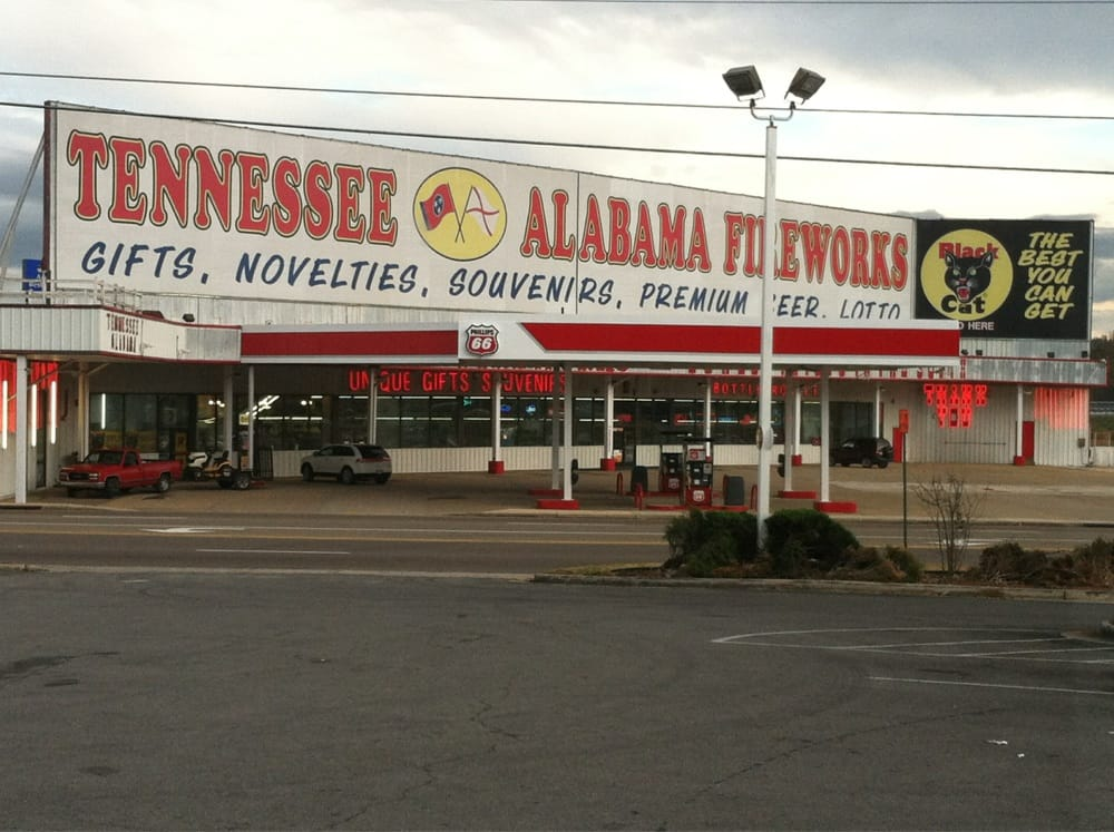 Tennessee Alabama Fireworks: 139 Hwy 72, South Pittsburg, TN