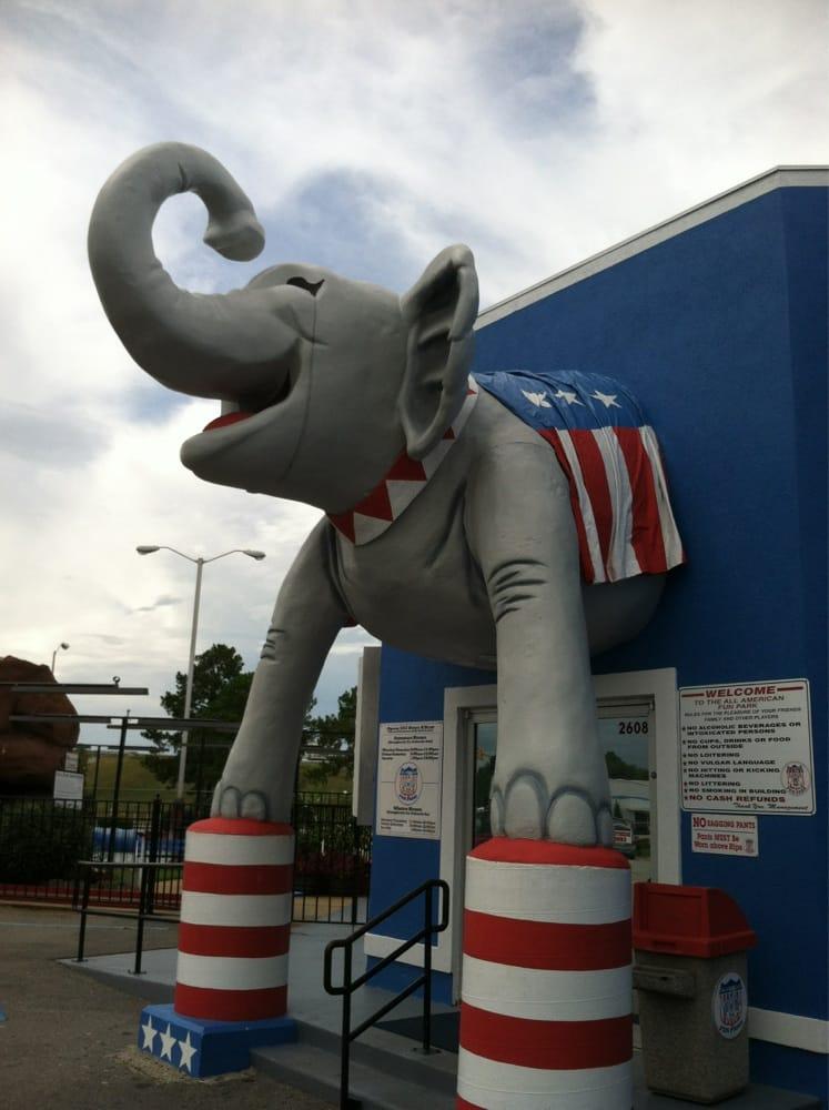 All American Fun Park: 2608 N Slappey Blvd, Albany, GA