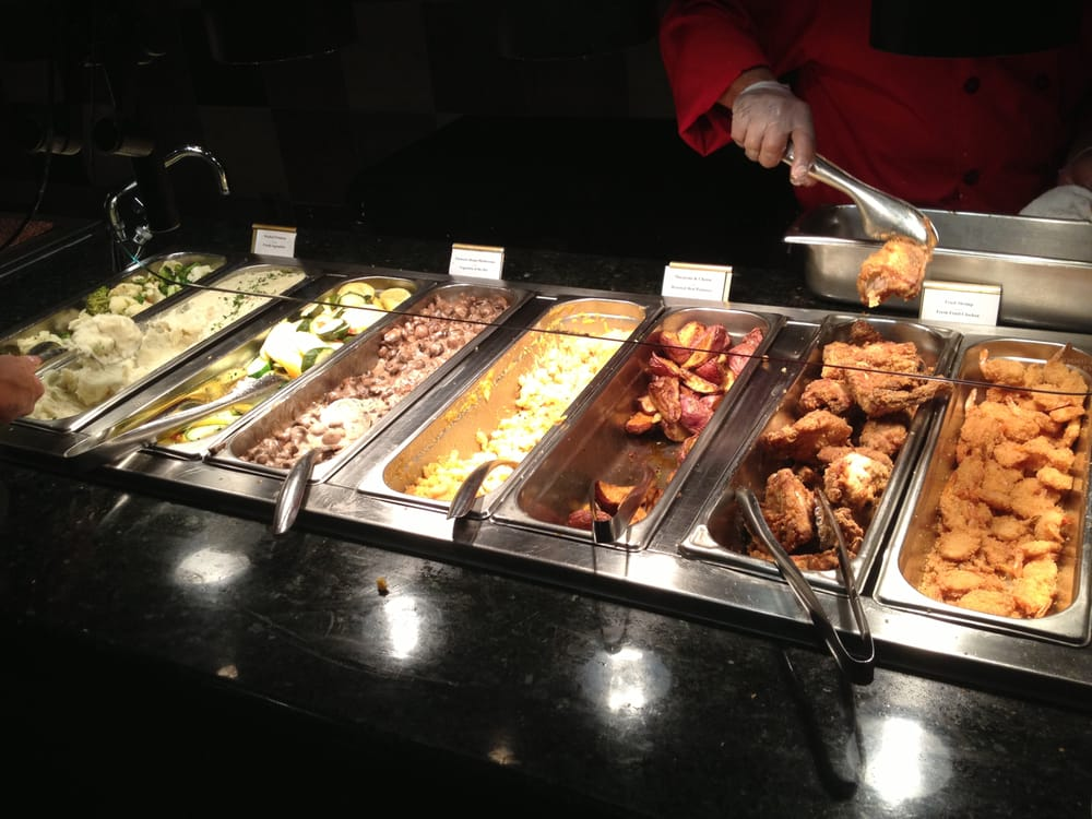 We're thrilled to announce the opening of our completely renovated and modern Buffet! We think you'll agree it's one of the most beautiful buffets in the area.