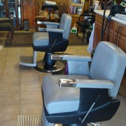 Photo Of Robertu0027s Barbershop   Eureka, CA, United States. Two Chairs  Waiting For
