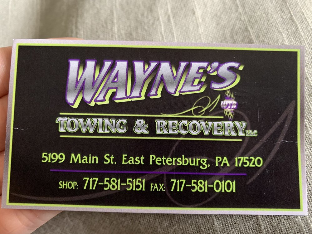 Towing business in Upper Leacock, PA