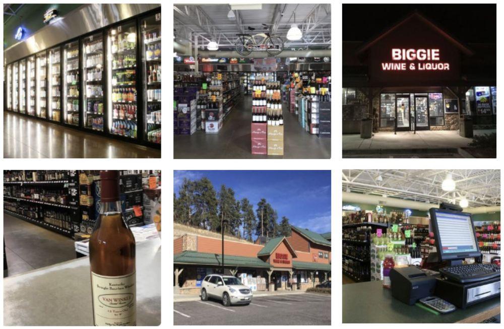 Biggie Wine and Liquor: 25587 Conifer Rd, Conifer, CO