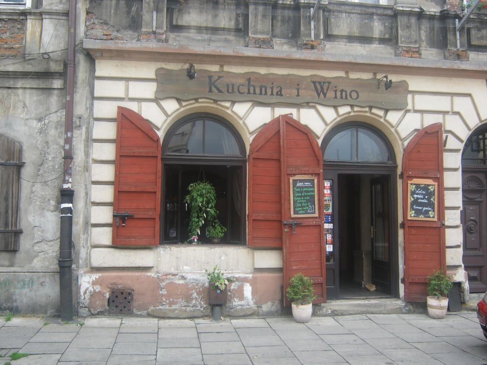 Kuchnia I Wino Mediterranean Józefa 13 Kazimierz