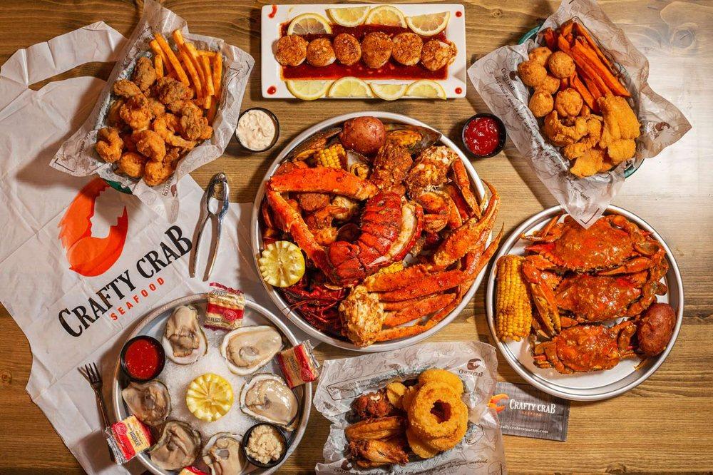 Crafty Crab - Jersey Village: 17460 Northwest Fwy, Houston, TX
