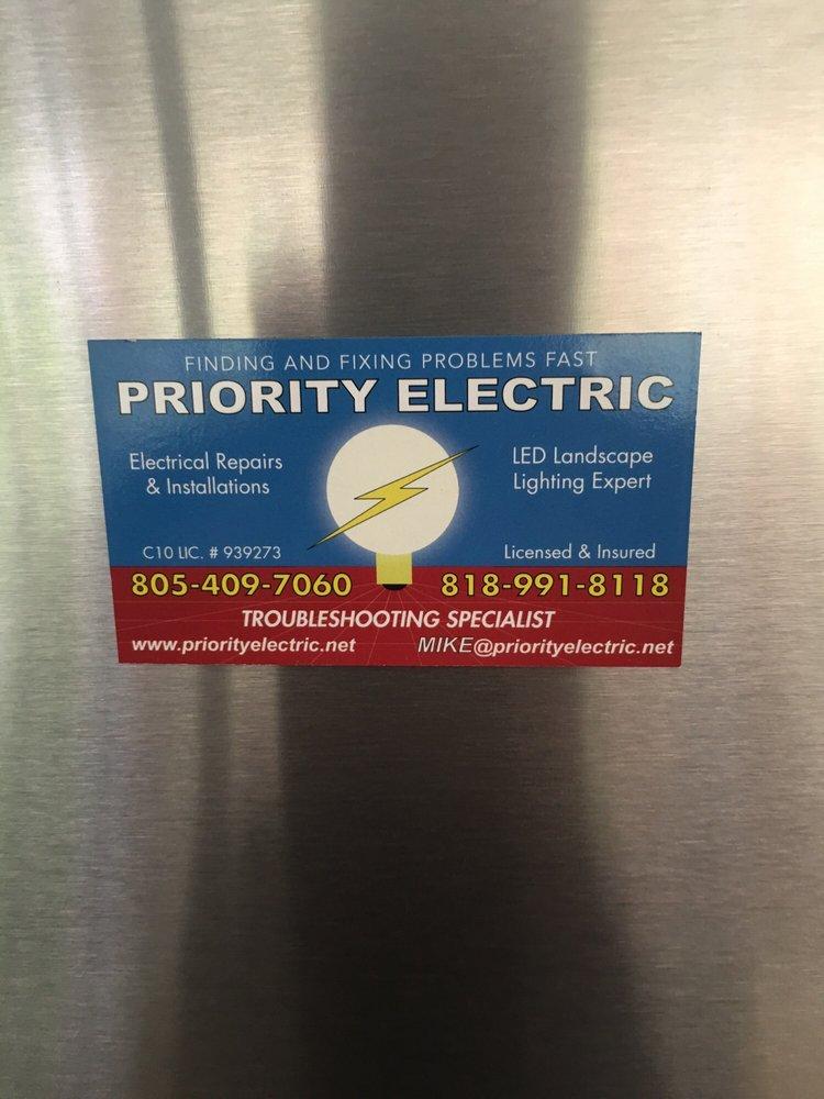 Priority Electric: 983 Via Colinas, Westlake Village, CA