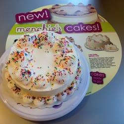 Menchie S Frozen Yogurt Birthday Cake
