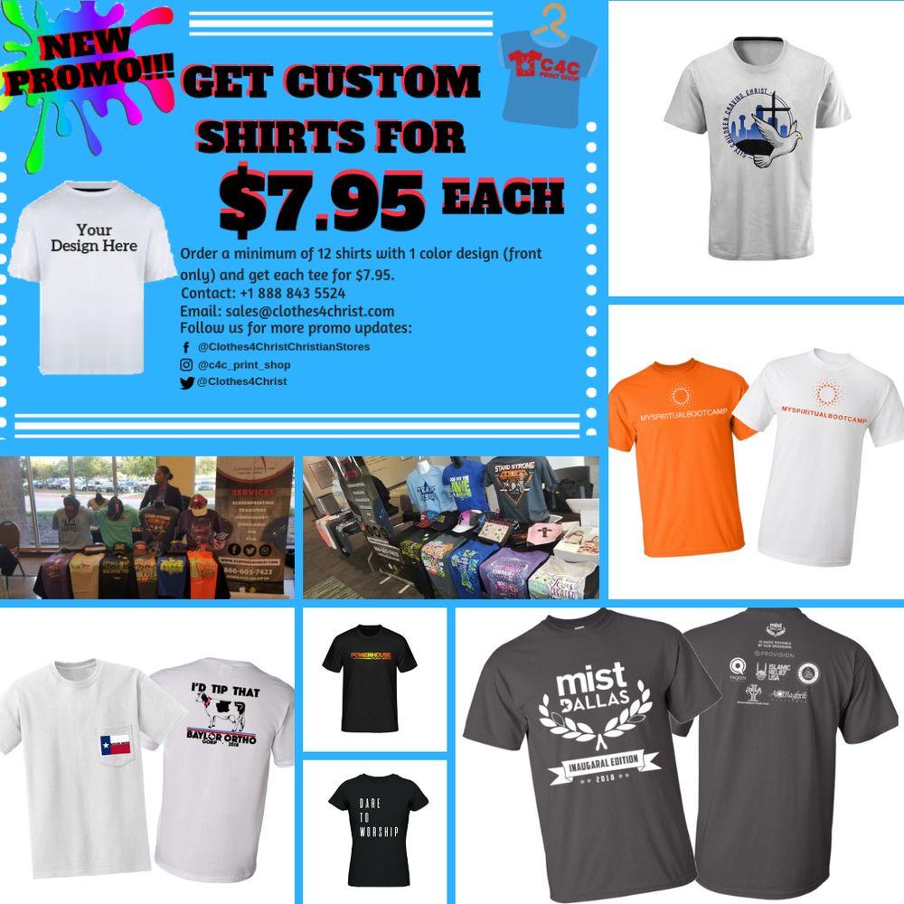 C4c Print Shop 116 Photos Screen Printingt Shirt Printing 555