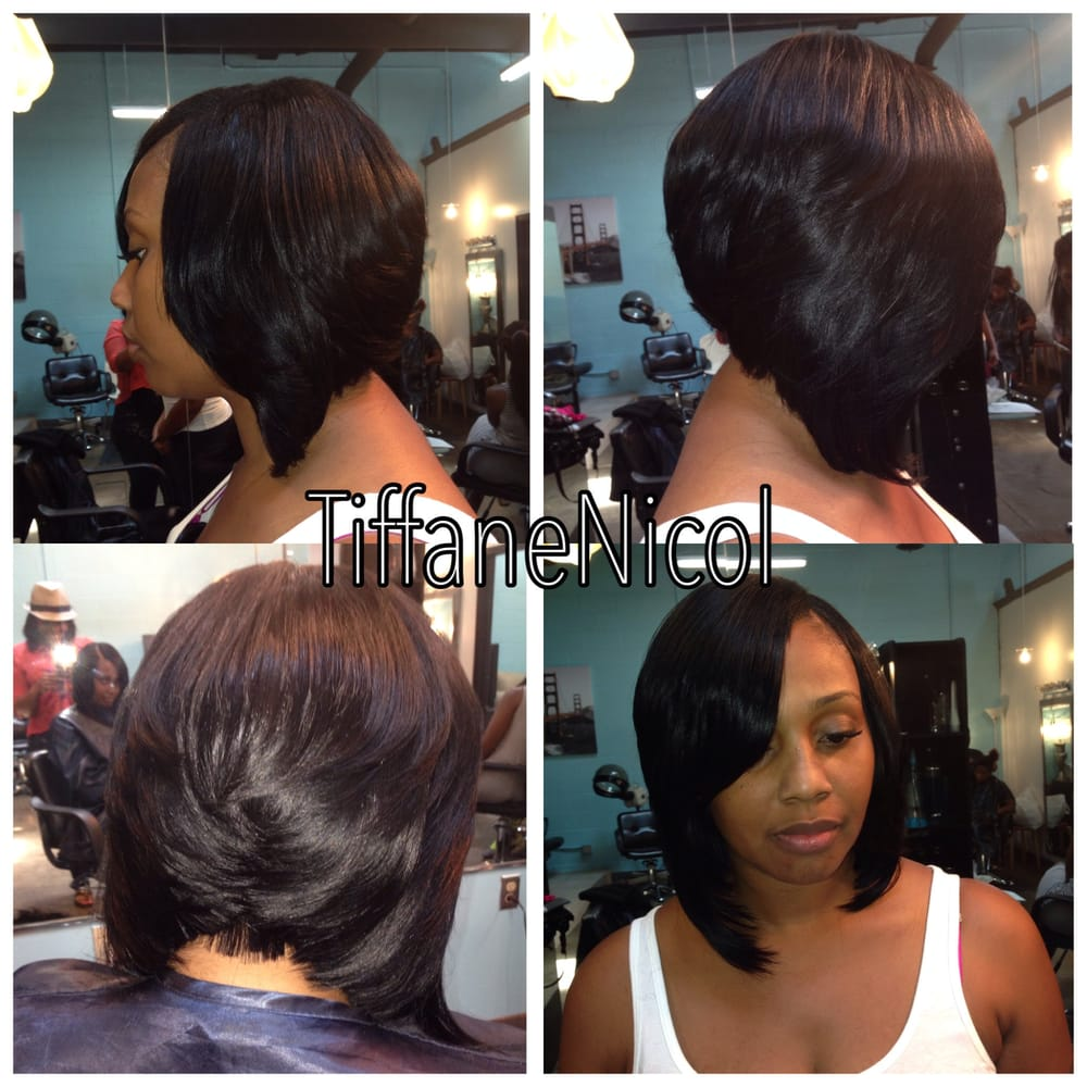 haircuts in the back sew n bob atlanta sew in bob back atlanta hair 3196