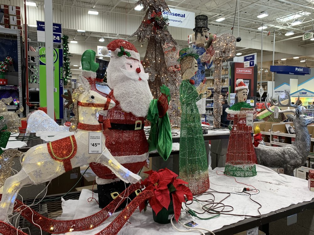 Lowes Christmas.Lowe S Christmas Decorations Yelp
