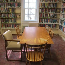 Photo Of South Yarmouth Library   Yarmouth, MA, United States. Interesting  Old Table