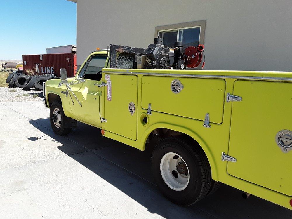 Tire truck service calls: 265 S 200th W, Scipio, UT