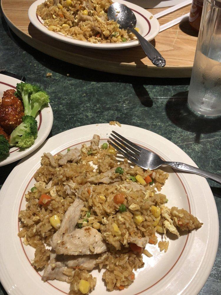 Food from Sunny Restaurant Asian Cuisine