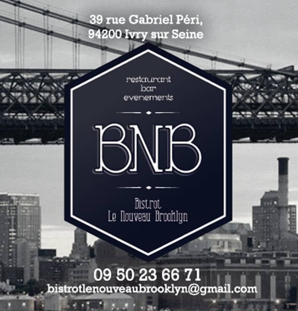 bistrot le nouveau brooklyn french 39 rue gabriel p ri ivry sur seine val de marne france. Black Bedroom Furniture Sets. Home Design Ideas